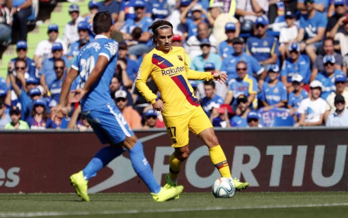 FC Barcelona v Getafe kick off time confirmed