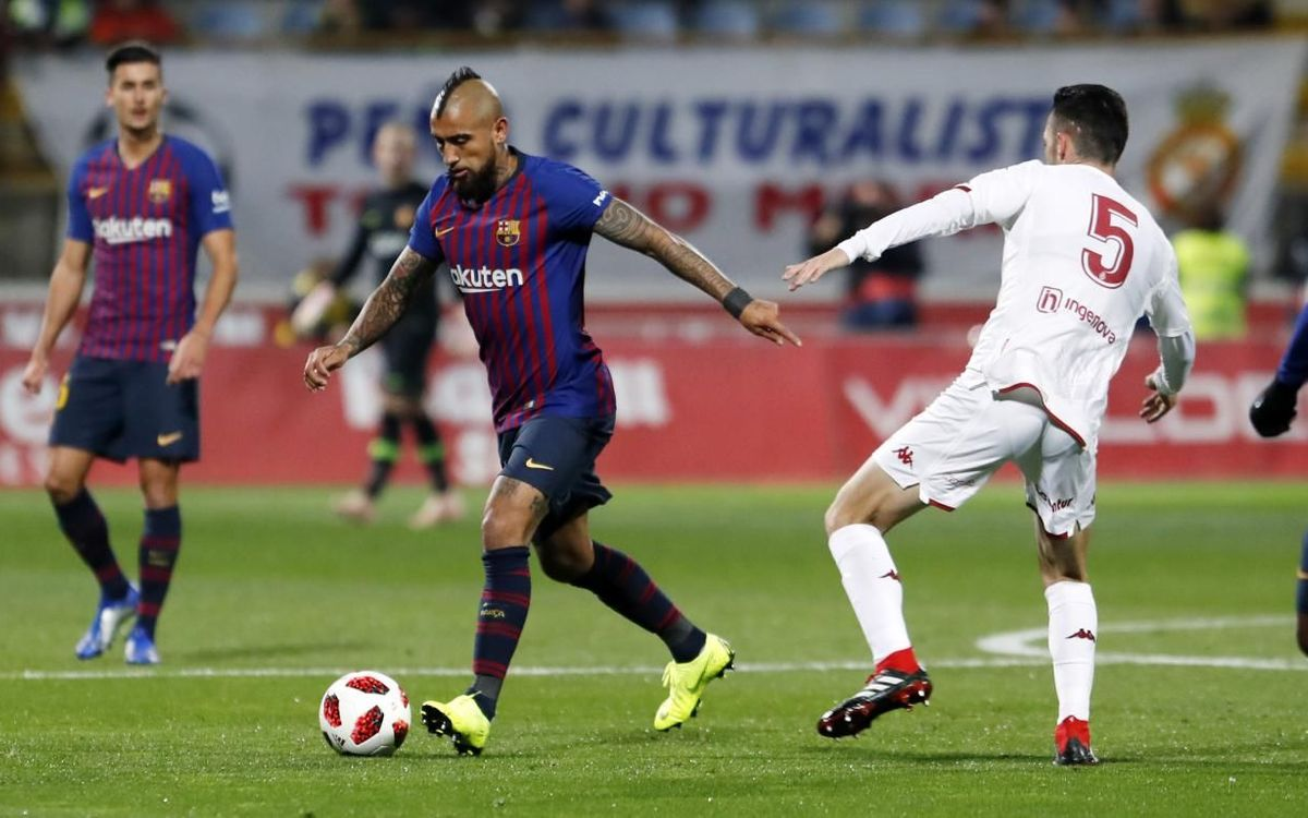 FC Barcelona Copa del Rey debuts