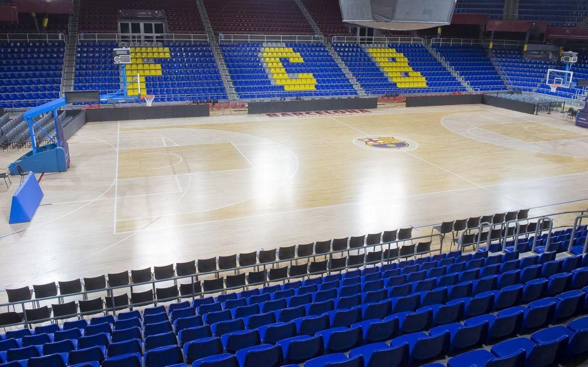 El Barça cedeix el Palau al Joventut de Badalona
