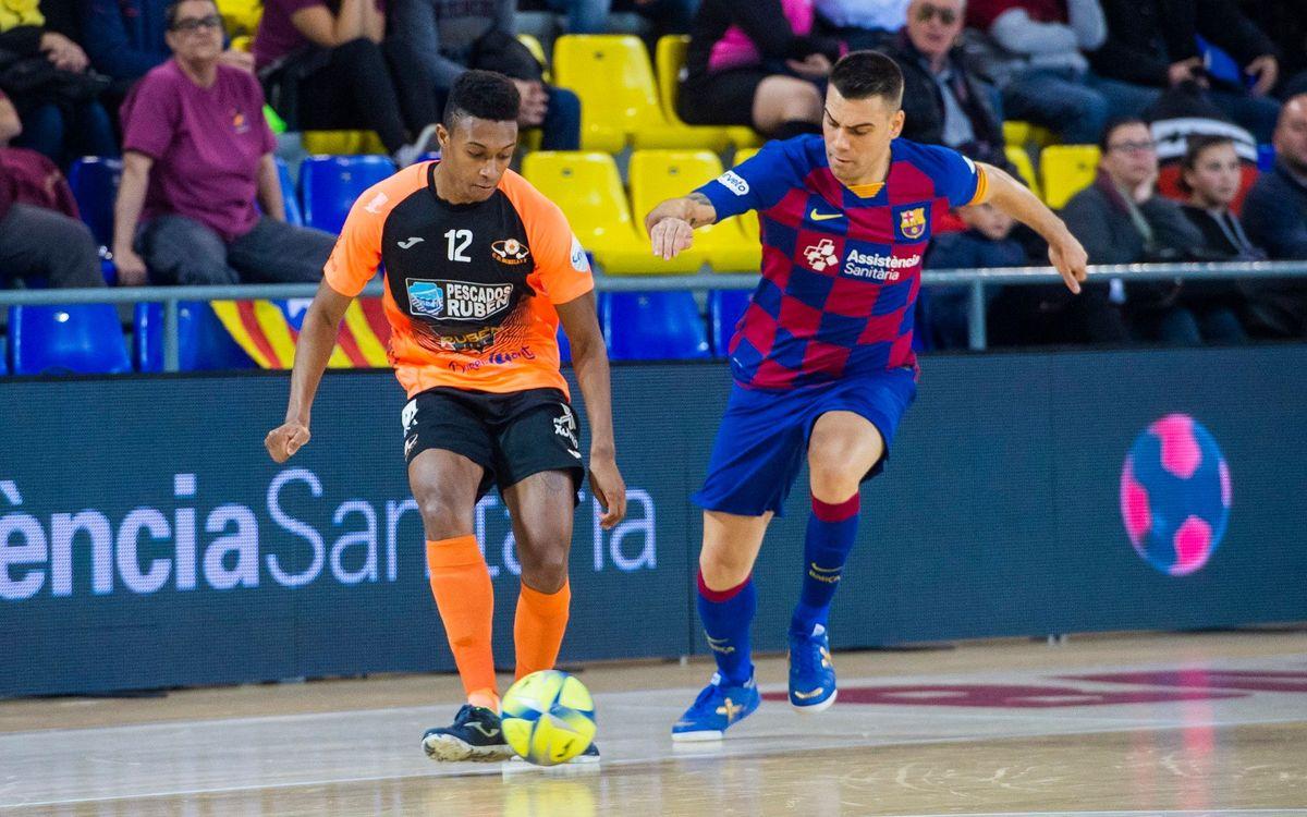 Barça-Burela, als quarts de final de Copa del Rei