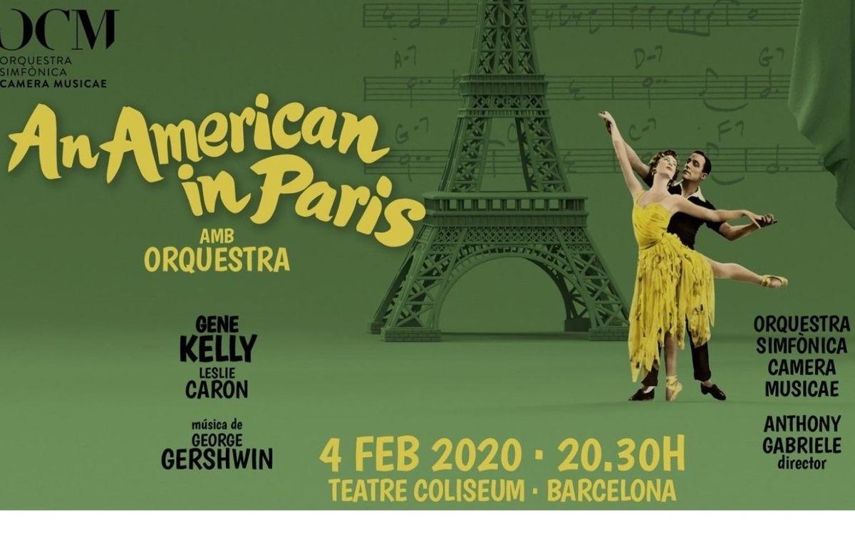 La película y la música de 'An American in Paris', con un descuento del 40%