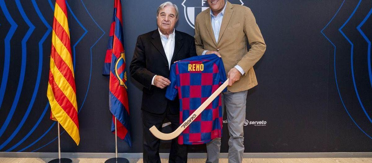Reno, nuevo partner oficial del Barça de hockey patines