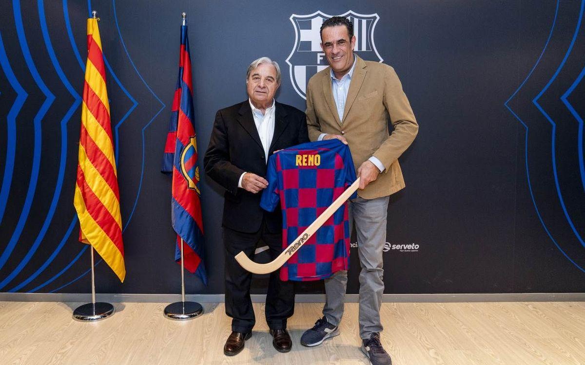 Reno, nou partner oficial del Barça d'hoquei patins