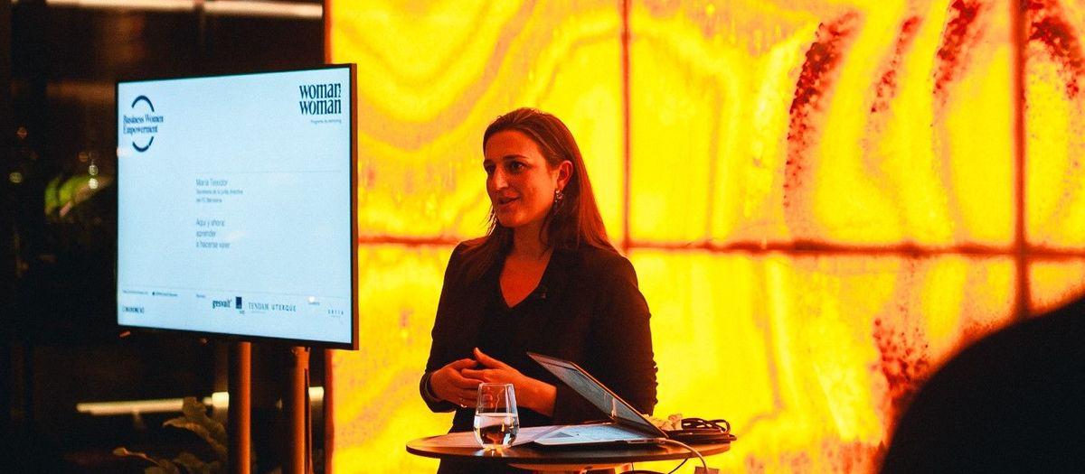 Maria Teixidor, protagonista de la jornada 'Business Women Empowerment'