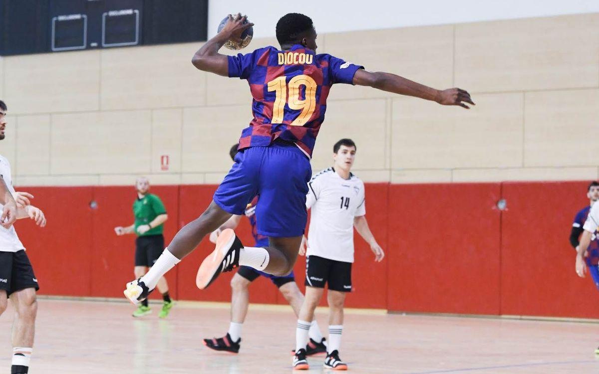 Barça B – BM Alcobendas: S'allarga la mala ratxa (33-42)