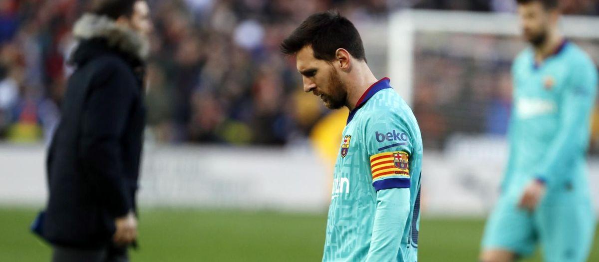 Valencia - FC Barcelona: Derrota en Mestalla (2-0)