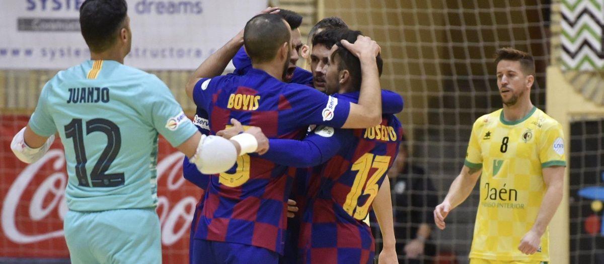 Jaén Paraíso Interior 3-6 Barça: Six of the best!