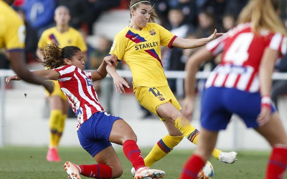 Atlètic de Madrid – Barça: Insistència sense premi per mantenir distàncies (0-0)