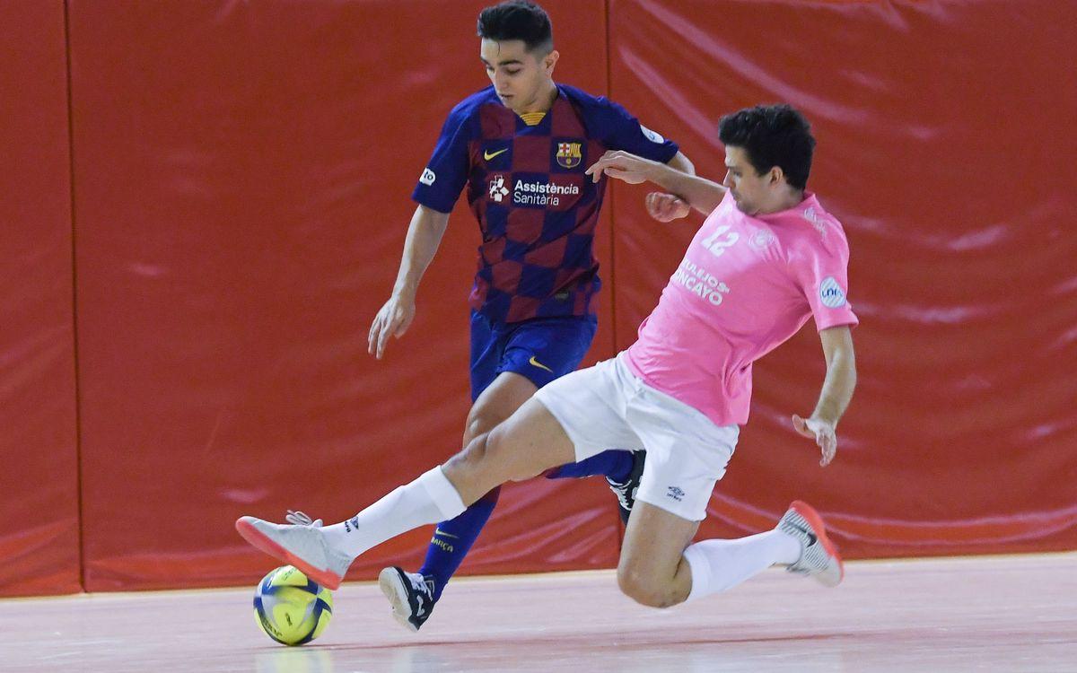 Barça B – Azulejos Moncayo Colo Colo (4-4): Empate en un partido intenso