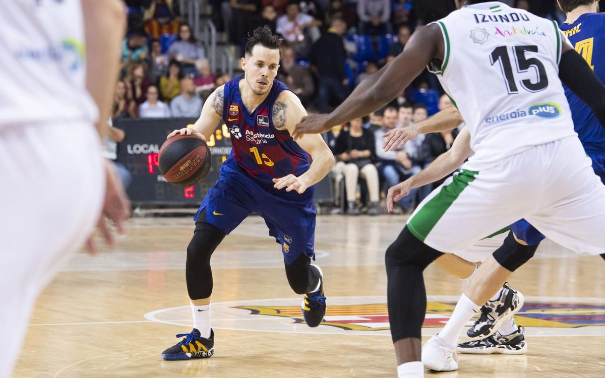 Barça-Betis: Sudor y esfuerzo para llevarse el triunfo (77-59)