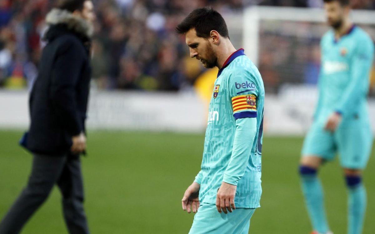 バレンシア – FC バルセロナ: メスタージャでの黒星 (2-0)