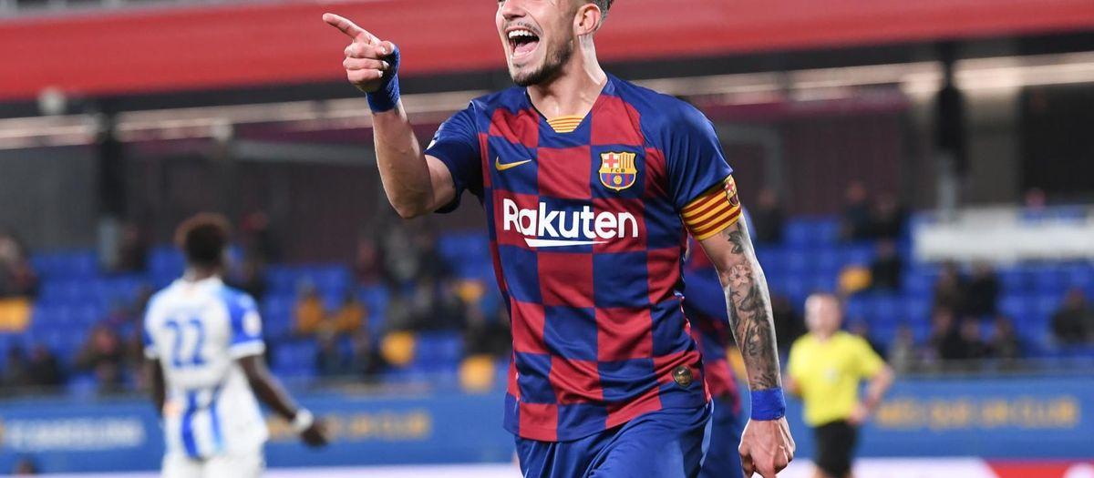 Barça B-Ejea: Trabajo y recompensa (2-0)