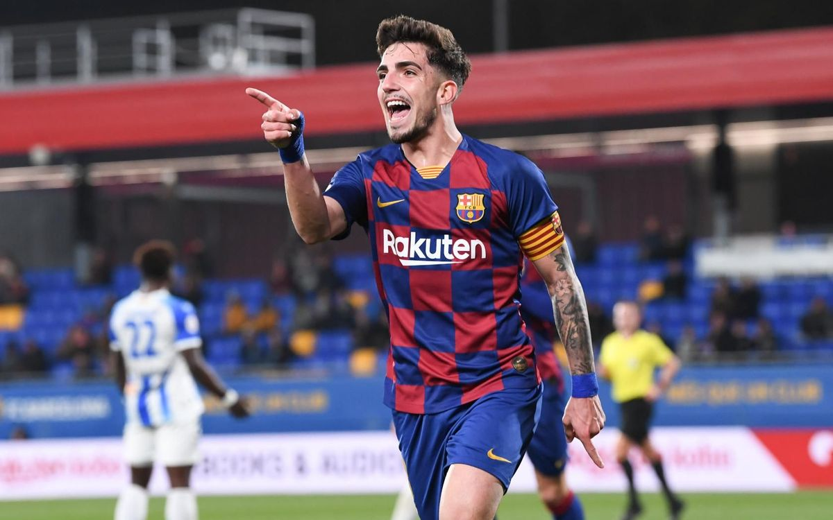 Barça B 2-0 Ejea: Hard work gets its reward