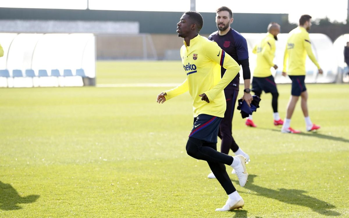 Dembéle has a complete proximal hamstring tear in his right thigh