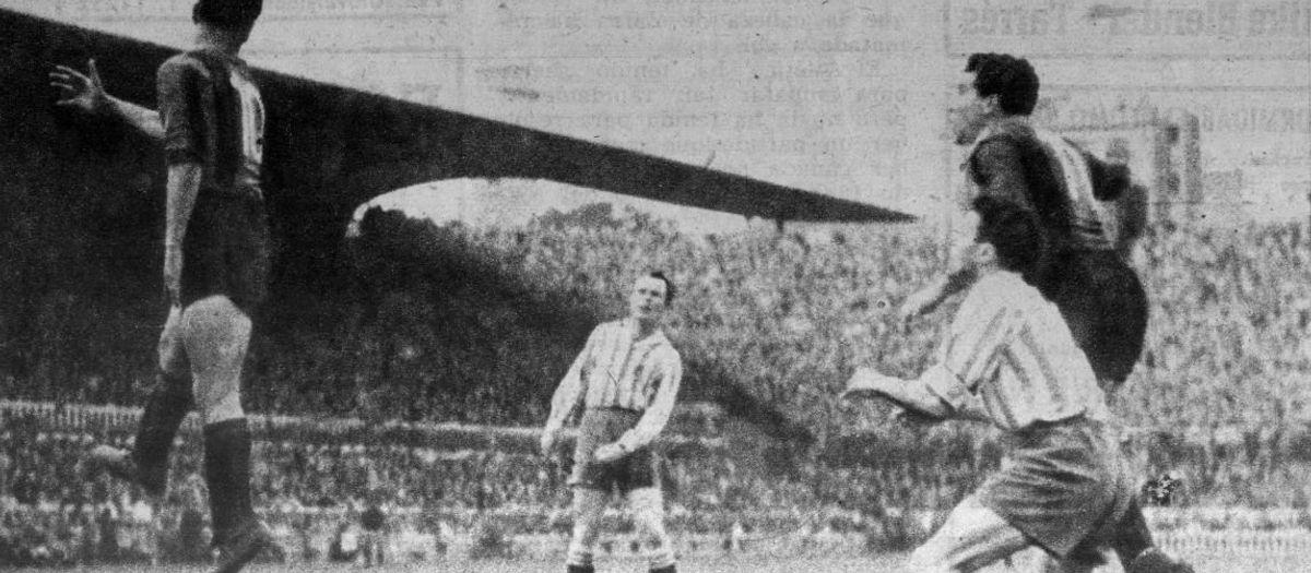 Quan el Barça va jugar una eliminatòria a partit únic com a local