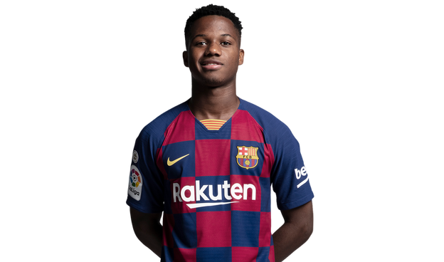 Ansu Fati Player Page For The Forward Fc Barcelona Official Website