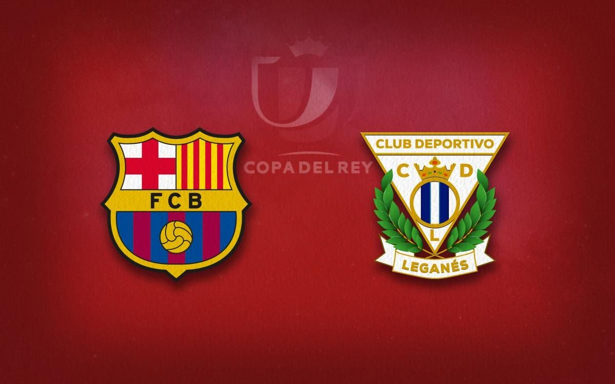 FC Barcelona lineup for Leganés game