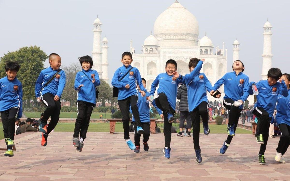 Més de 700 jugadors Barça Academy, preparats a Nova Delhi per iniciar la Barça Academy Cup APAC i la Barça Academy Cup Índia