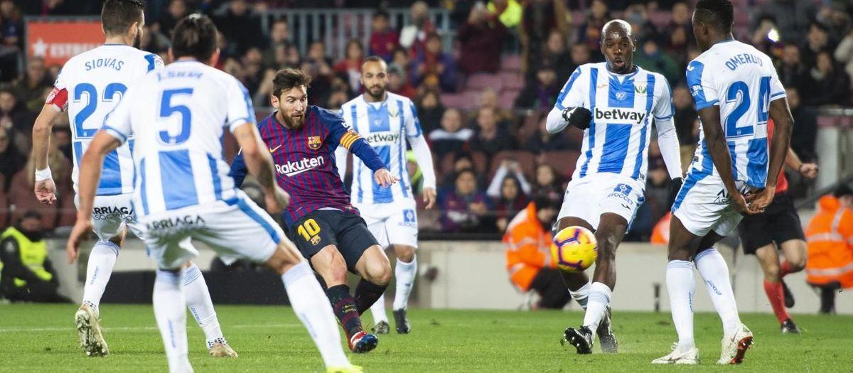 Tres precedents contra el Leganés al Camp Nou