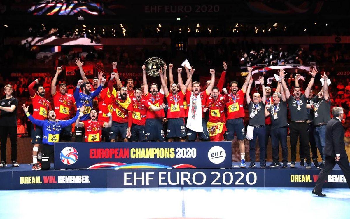 ¡España gana el Oro en el Europeo!