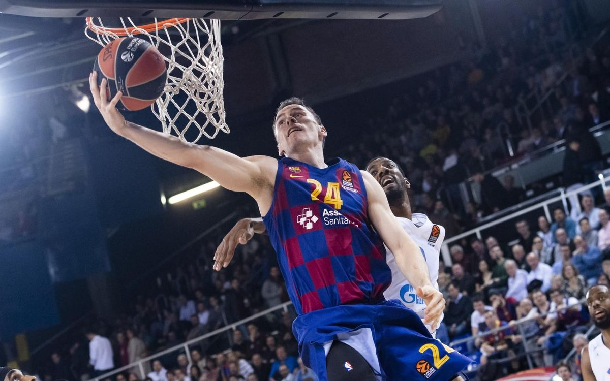 Barça 90-72 Zenit: A comfortable night