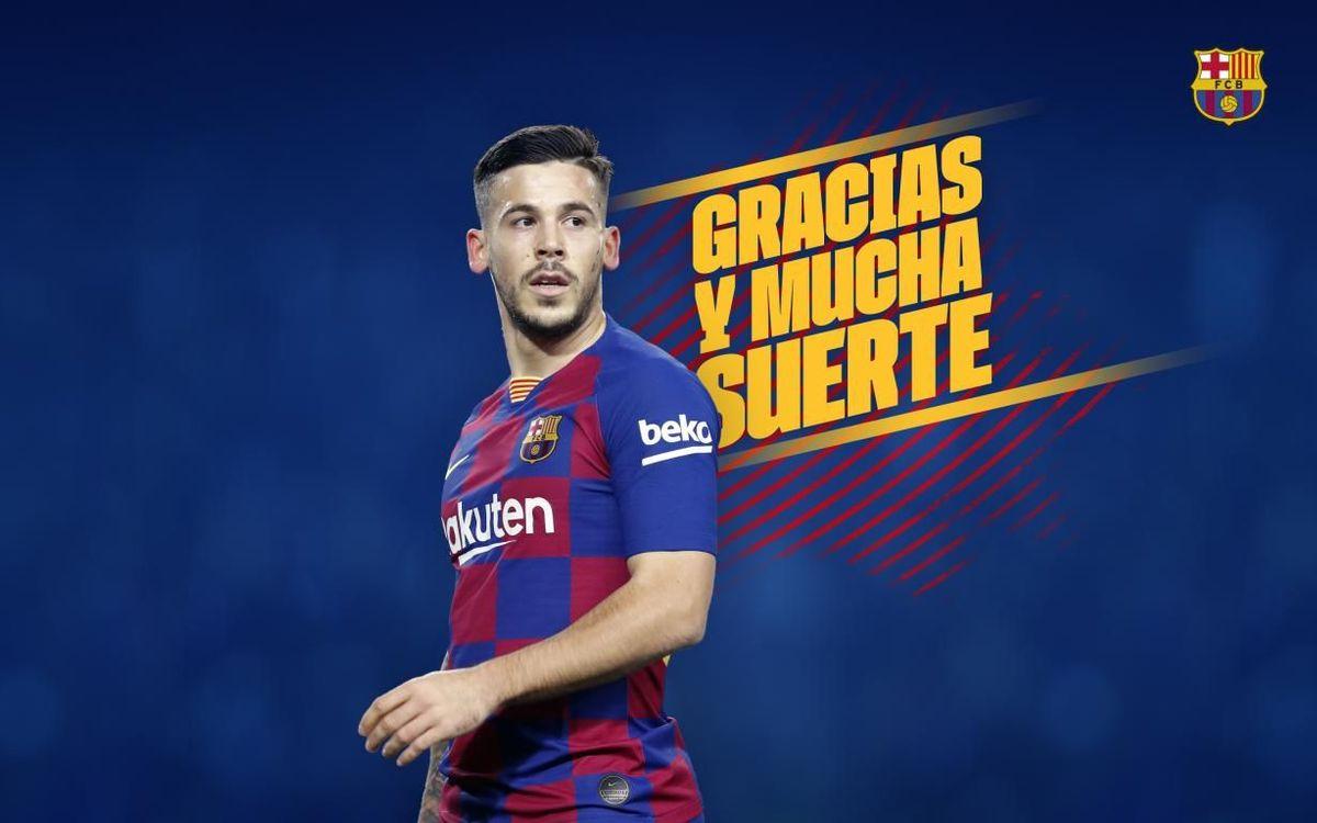 Acuerdo con la AS Roma para la cesión de Carles Pérez