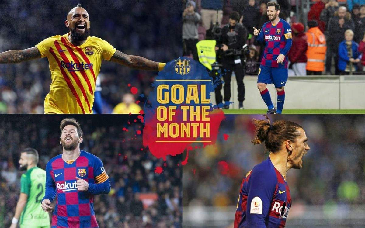 Quin és el millor gol del mes?
