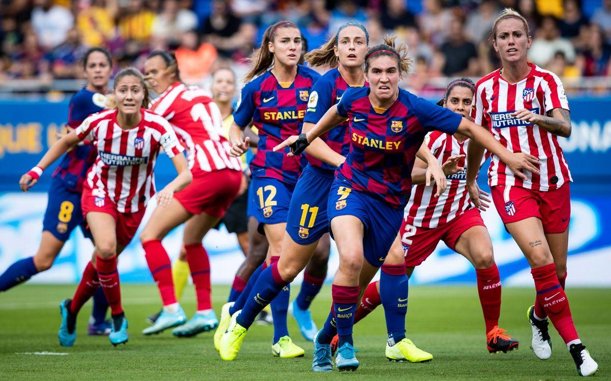 Entrades per als partits de la Supercopa femenina