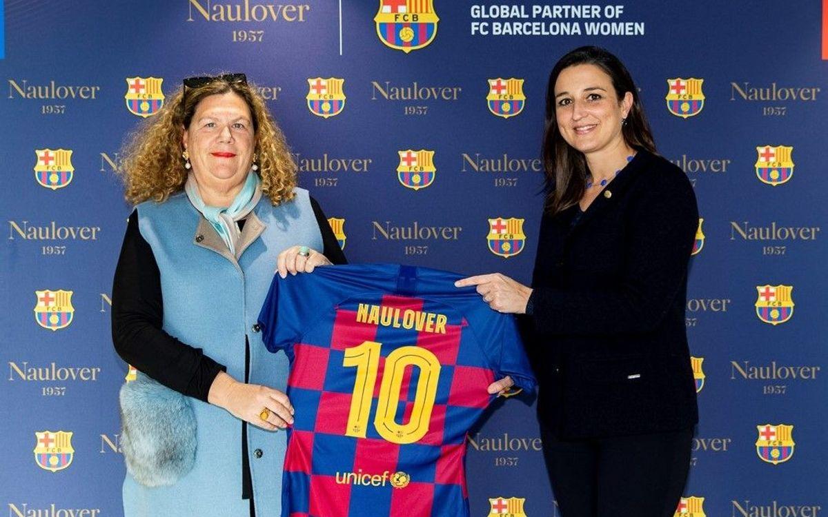 Naulover vestirà les jugadores del Barça Femení