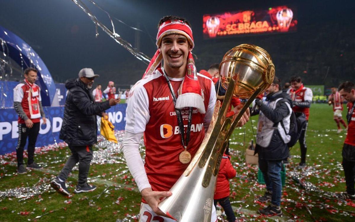 Accord trouvé avec le SC Braga pour le transfert de Trincão