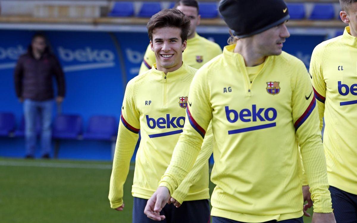 Le groupe du Barça pour la réception de Levante