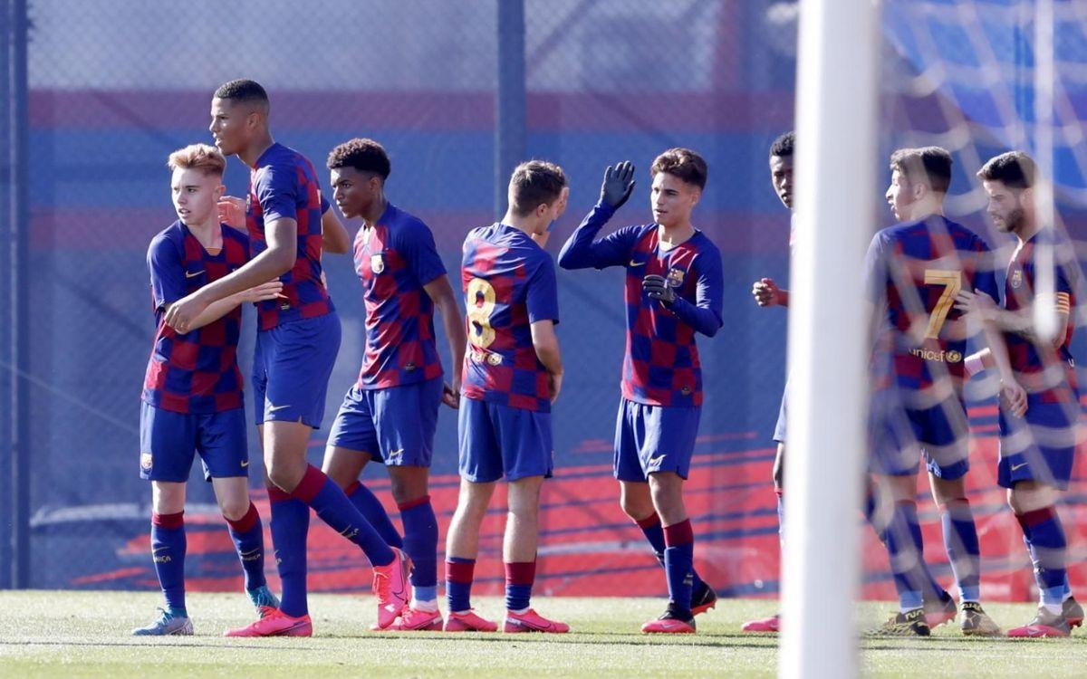 Juvenil A – Gimnàstic Tarragona: El líder continua la ratxa (1-0)