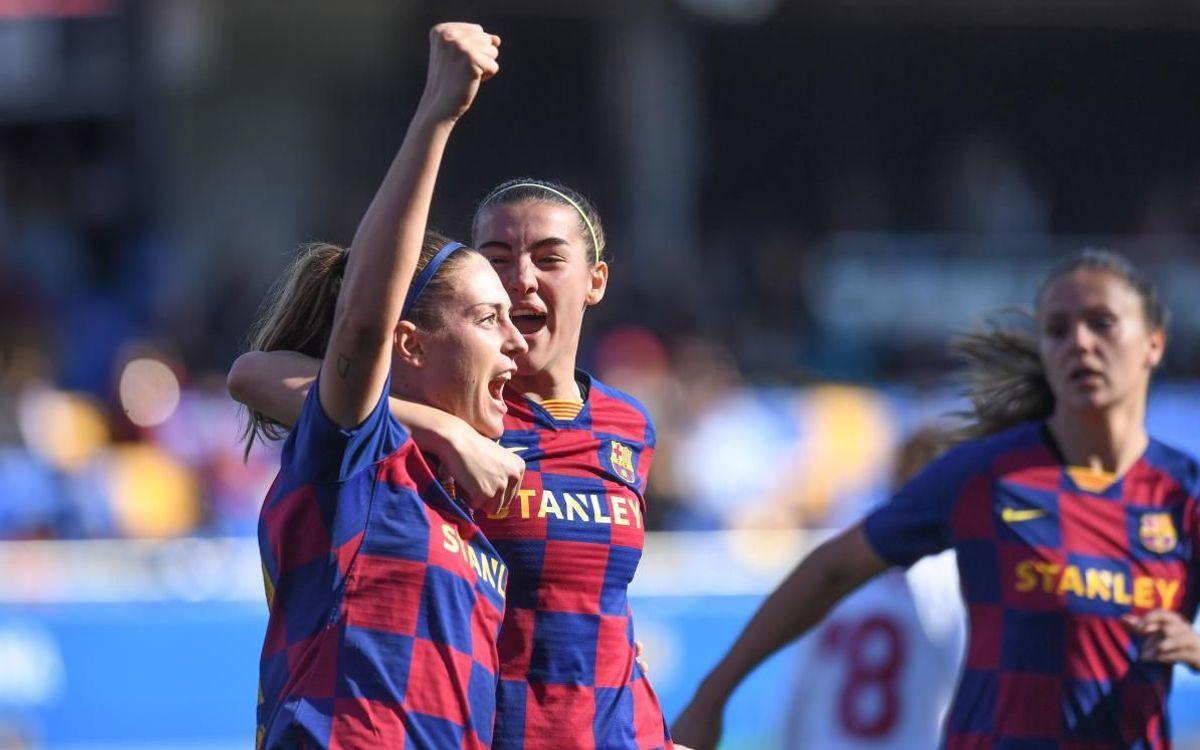 Barça Women 3-0 Sevilla: Victory ahead of the Super Cup