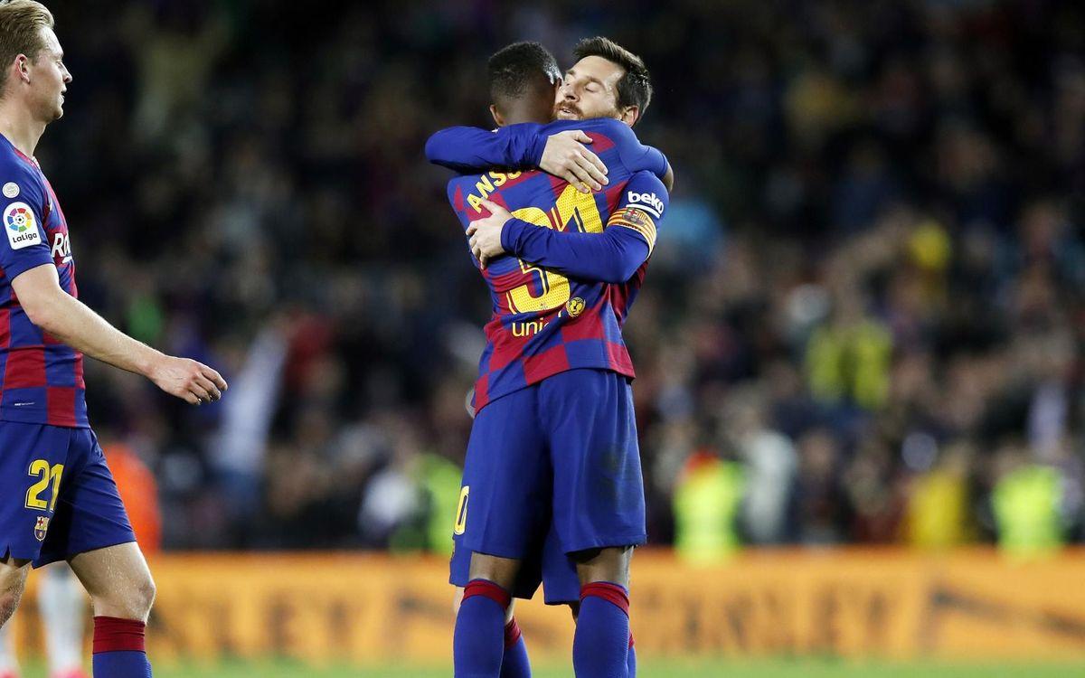 Barça - Levante : L'enfant prodige Ansu Fati offre les 3 points (2-1)