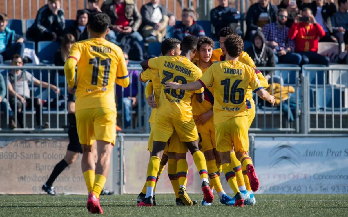 El Prat 1-2 Barça B: Vital three points