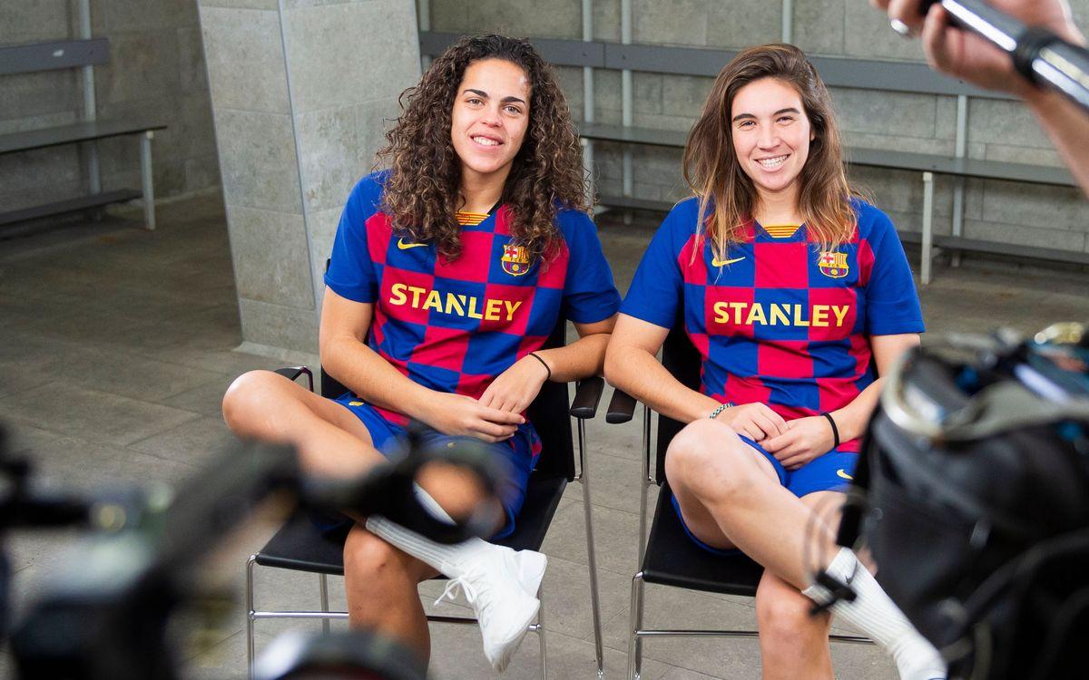 Mariona Caldentey y Andrea Falcón, cara a cara en el 7 Seconds Challenge