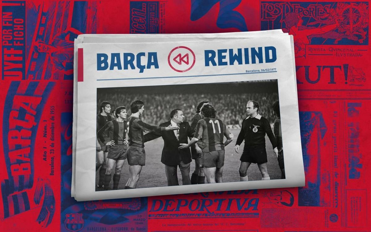 Barça Rewind: Cruyff sent off, outrage at Camp Nou