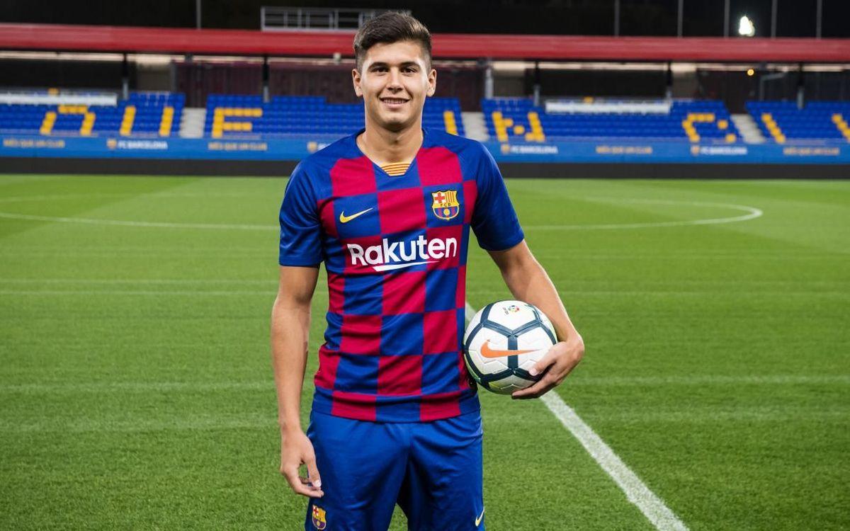 Santiago Ramos Mingo se incorpora al Barça B