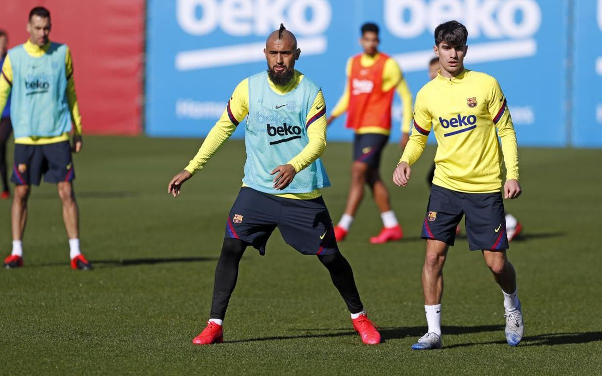The FC Barcelona squad for the trip to Bilbao