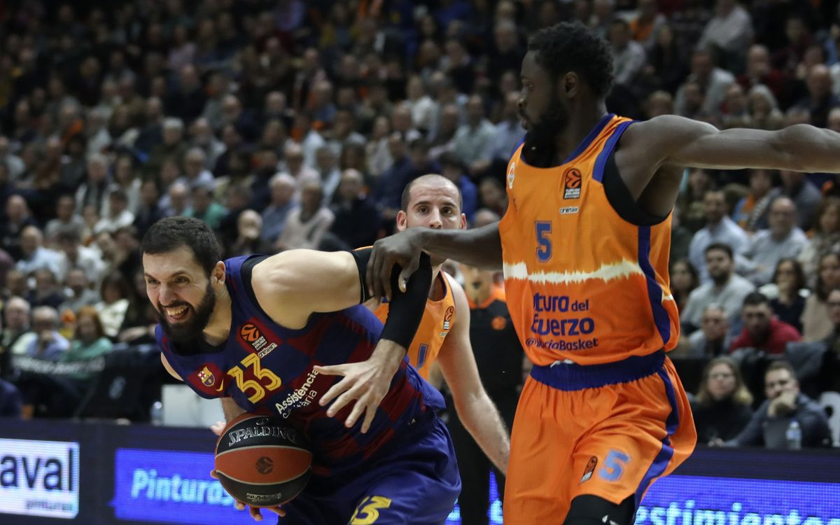 Valencia Basket 76-77 Barça: Last gasp Euroleague win