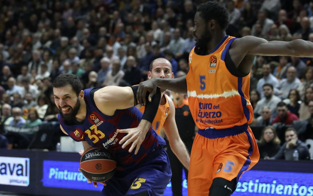 València Basket-Barça: Triomf 'in extremis' a la Fonteta (76-77)