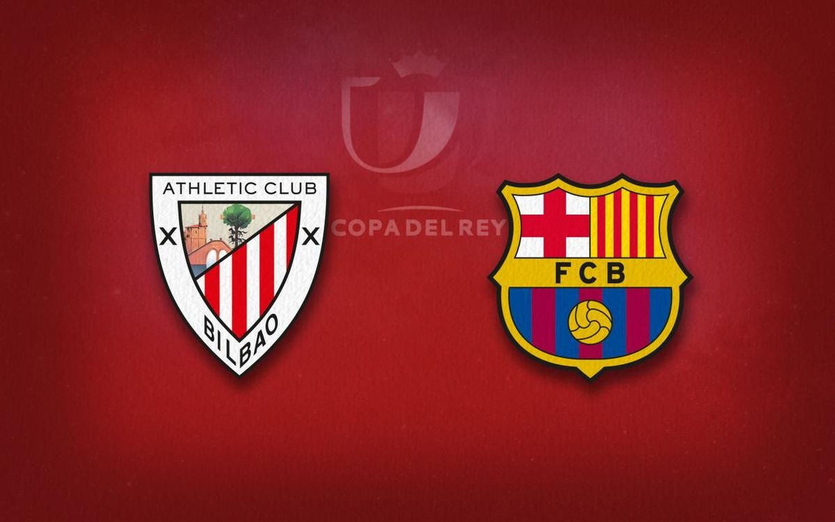 La alineación del FC Barcelona contra el Athletic Club