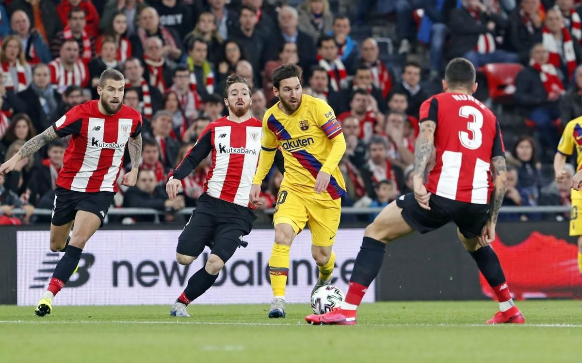 Ath. Bilbao – Barça : Cruel final à San Mamés (1-0)
