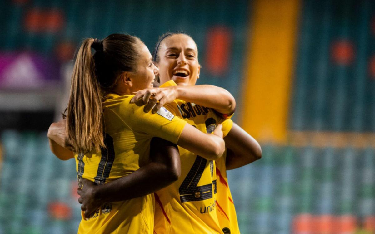 Atlético de Madrid - Barça Femenino: A la final de la Supercopa de España! (2-3)