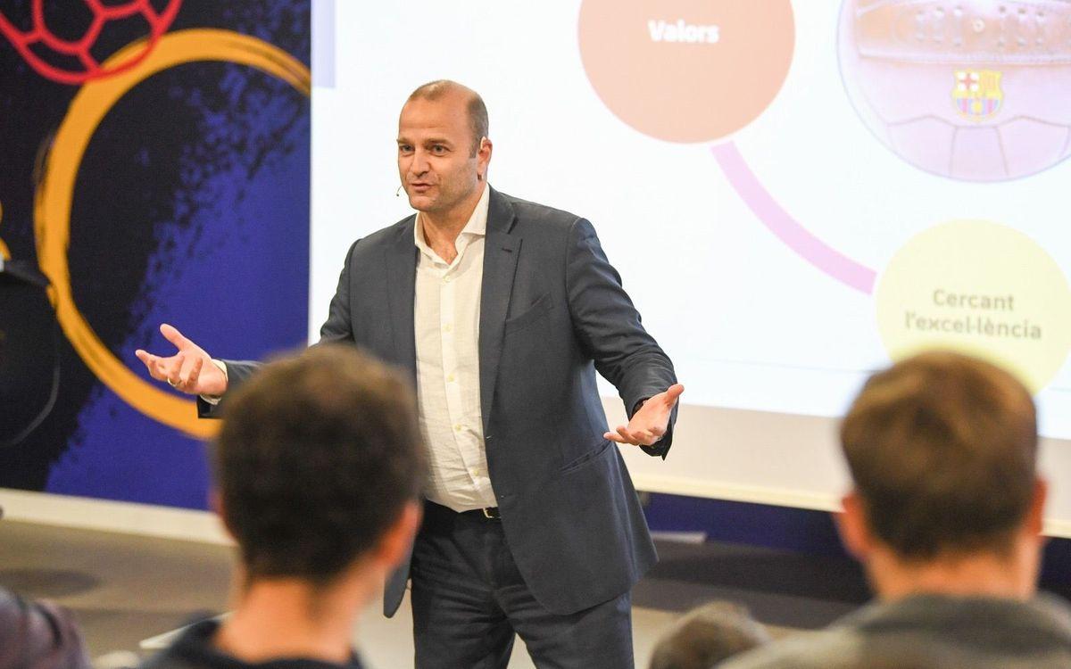 Empieza el quinto Barça Coach Development Program