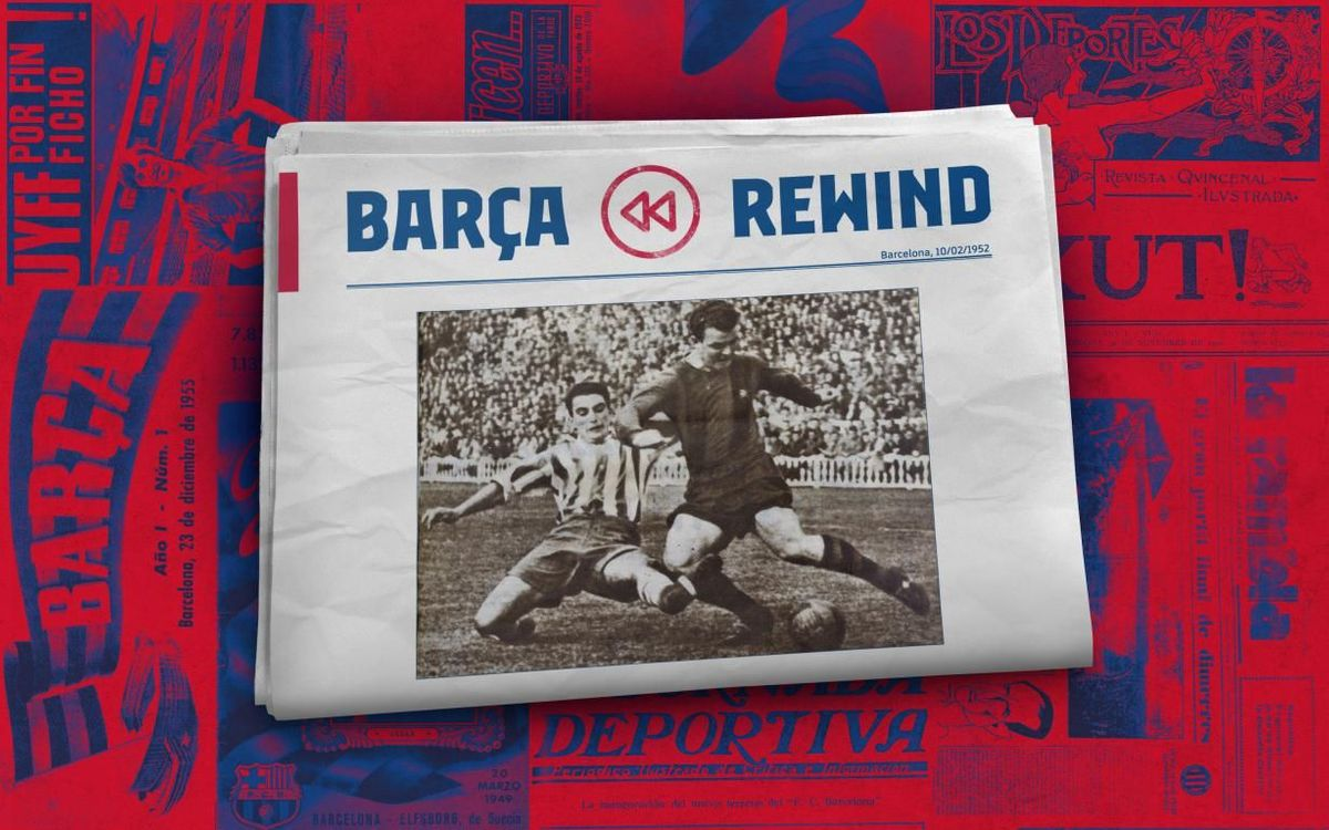 Barça Rewind: Seven-goal Kubala slated for playing poorly!