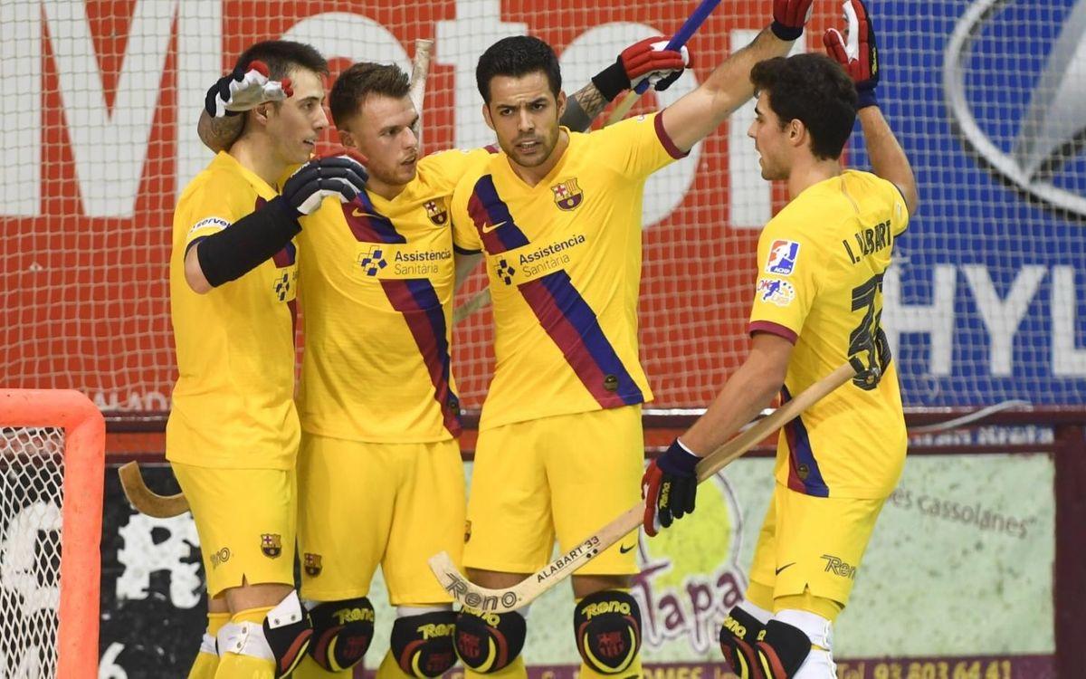 Noia Freixenet 2-4 Barça: The wins keep coming