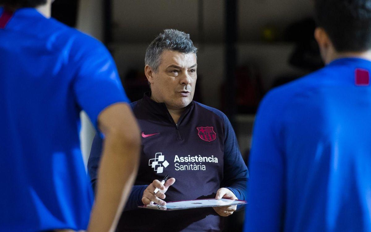 """Xavi Pascual: """"L'equip ha demostrat que està bé"""""""