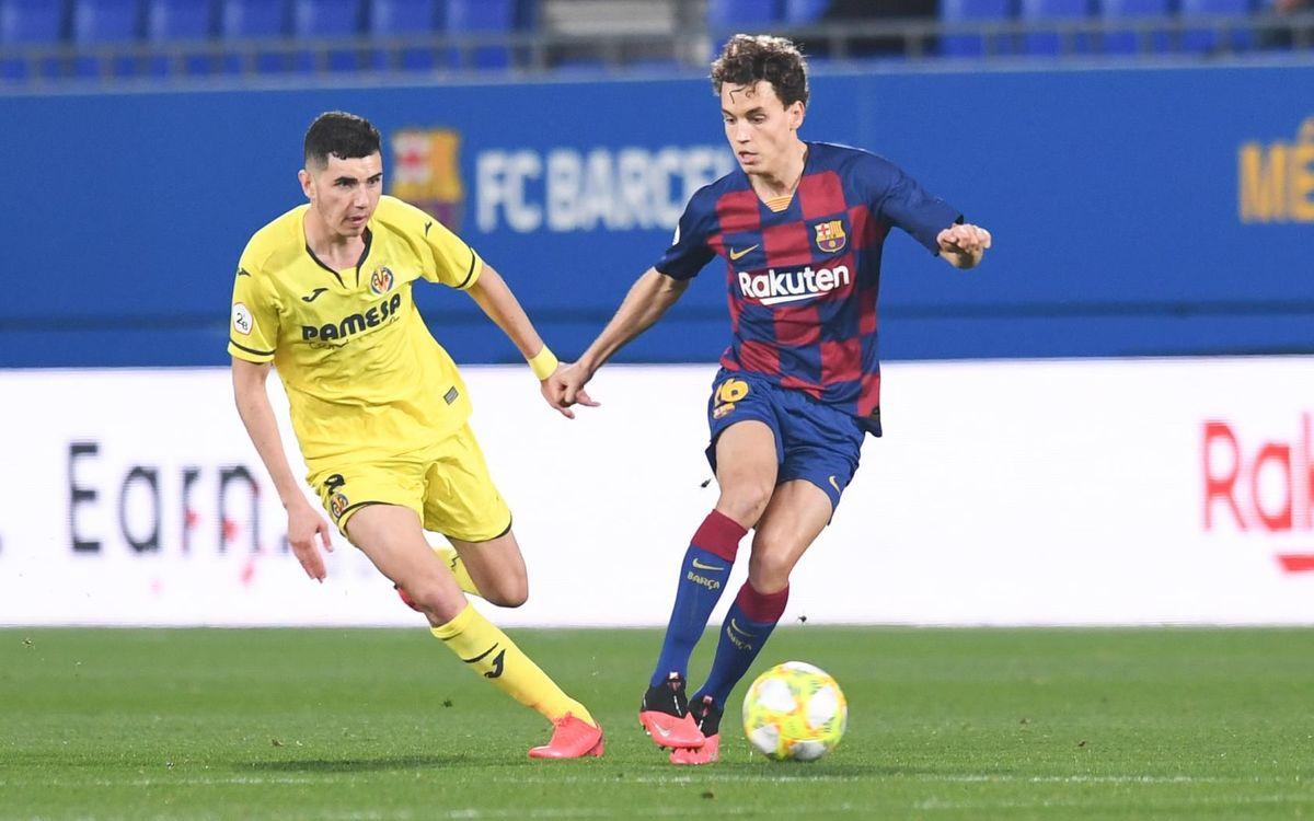 Barça B 2-3 Villarreal B: Defeat at Johan Cruyff Stadium