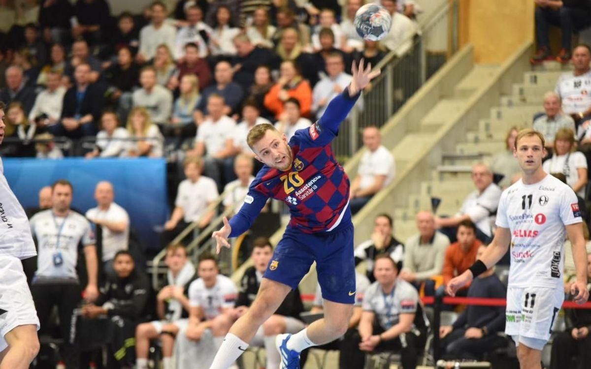Elverum Handball 26-30 Barça: Brilliant away win!